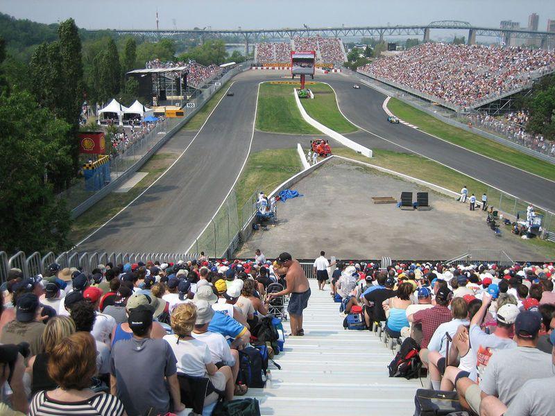 F1今年確定不會在蒙特婁站開打,加拿大車迷將連續2年受到疫情打擊,看不到F1現場賽事。(photo from Wikimedia)