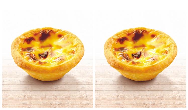 肯德基推出原味蛋撻1元的加購優惠。圖/取自肯德機官網