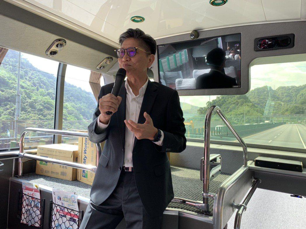 雄獅旅遊總經理黃信川。  記者楊文琪/攝影