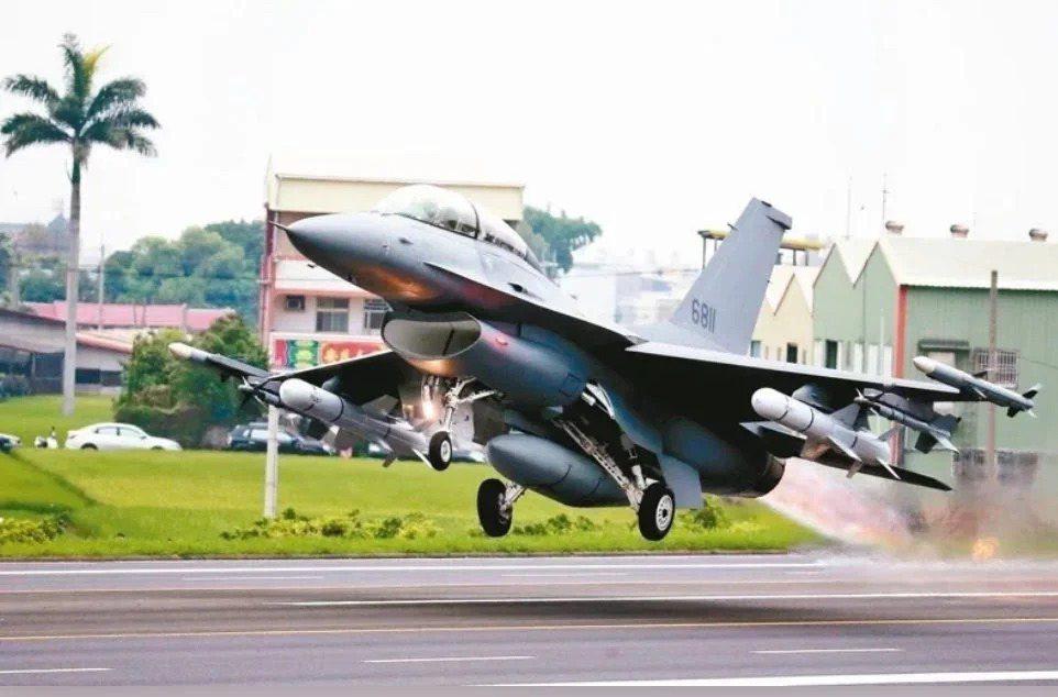 F-16V戰機。本報資料照
