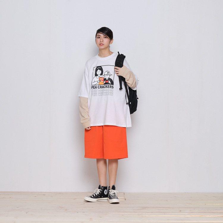 plain-me可樂果系列T恤1,280元。圖/plain-me提供