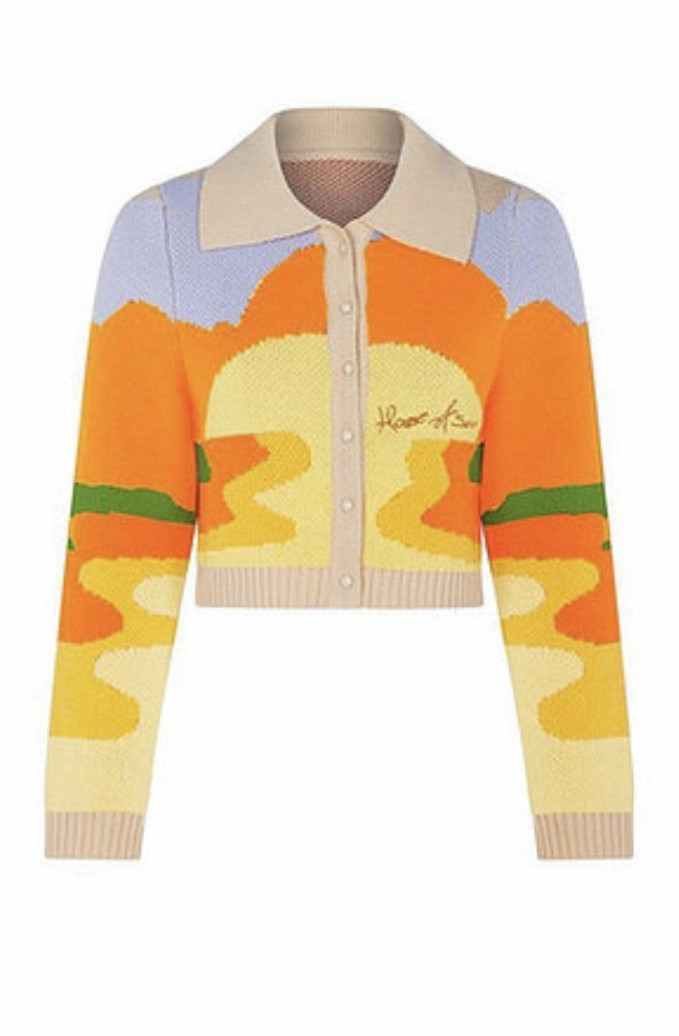 HOUSE OF SUNNY day tripper針織衫,售價90英鎊、約台幣...