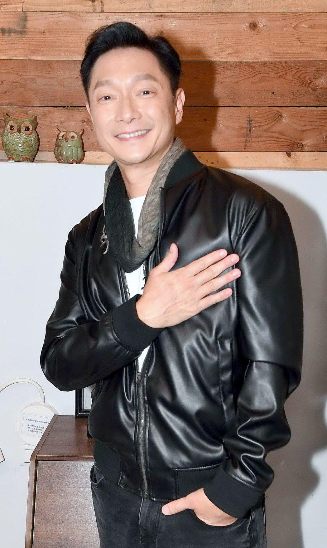謝祖武近日忙拍新戲「婚姻結業式」。圖/華視提供
