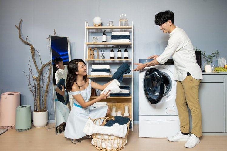 伊萊克斯極淨呵護系列滾筒洗衣機、洗脫烘衣機推出「享淨享退安心加倍」90天體驗方案...
