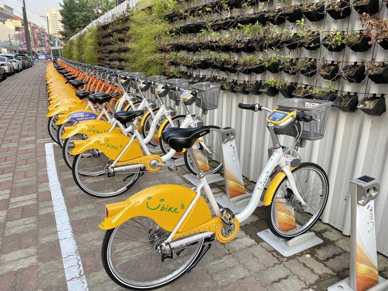 台中公共自行車前30分鐘免費措施從2015年起開始補助,經費從3000萬元膨脹至今3倍,議員要求全面檢討,以免變成錢坑。記者喻文玟/攝影