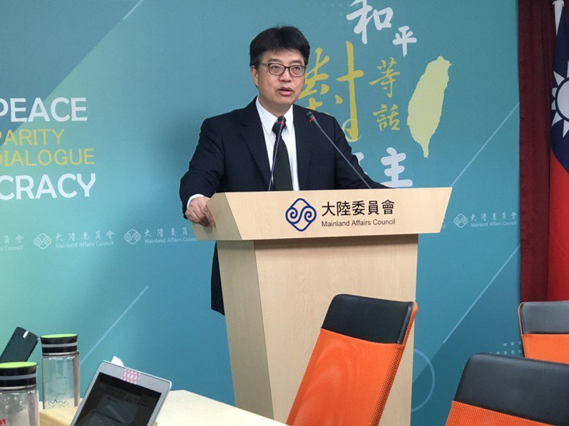 國民黨大陸部主任左正東稱,政府提出恢復部分大陸商務人士來台申請承諾未落實,陸委會對此澄清。記者林汪靜/攝影