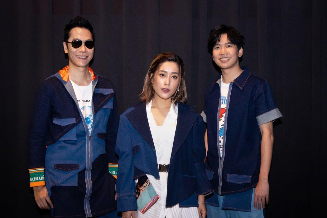 小男孩樂團成員昌哥(左起)、米非、漢斯。圖/滾石唱片提供