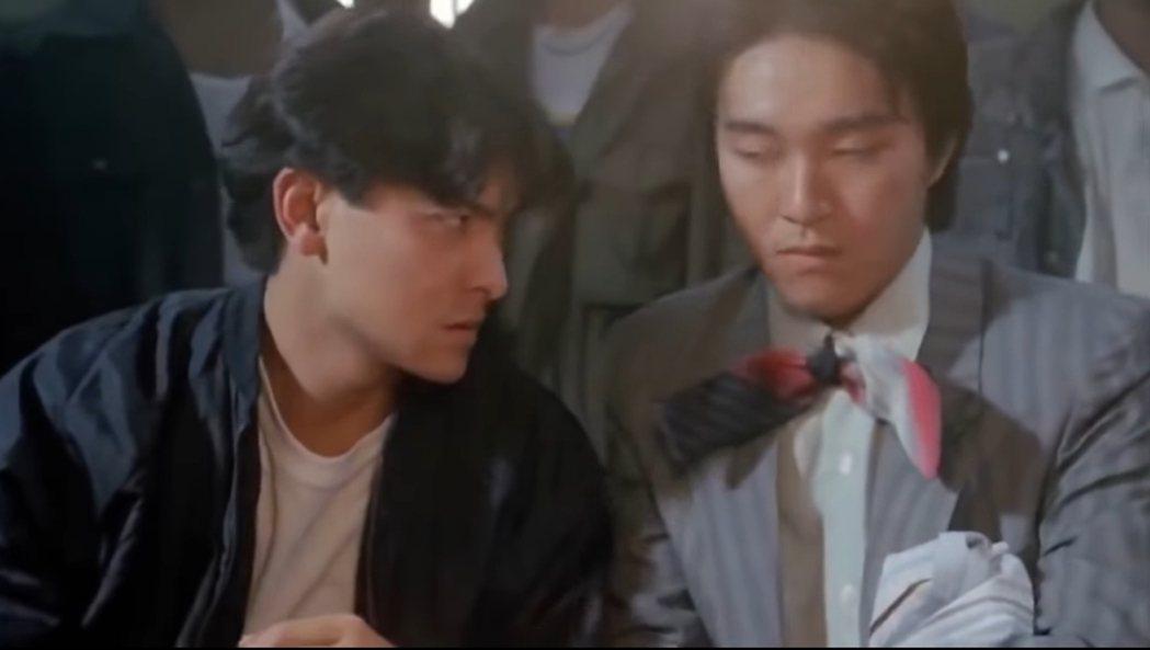 劉德華與周星馳1991年合拍賭俠。 圖/擷自Youtube