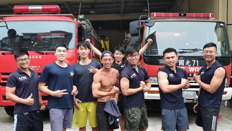 余柏賢,是目前警察、消防、各大學校機構指定的健身教練。圖片由余柏賢授權「有肌勵」刊登