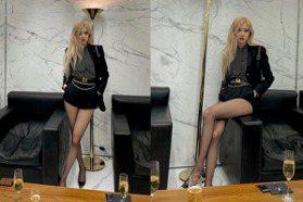 拍到了!「人間YSL」Rosé真實腿型簡直是漫畫腿 逆天長腿養成指南看這篇就夠