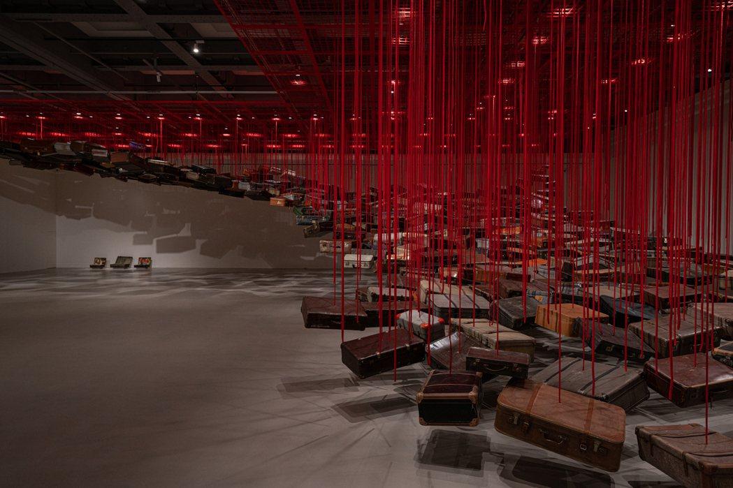 作品《集聚——找尋目的地》。 圖/台北市立美術館提供