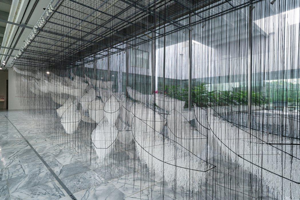 作品《去向何方?》。 圖/台北市立美術館提供