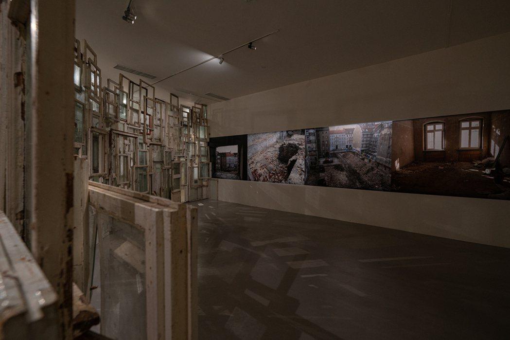 作品《內與外》。 圖/台北市立美術館提供