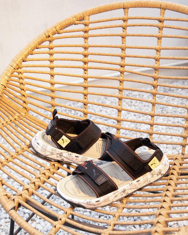 PUMA RS-Sandal Michael Lau涼鞋3,180元。圖/PUM...