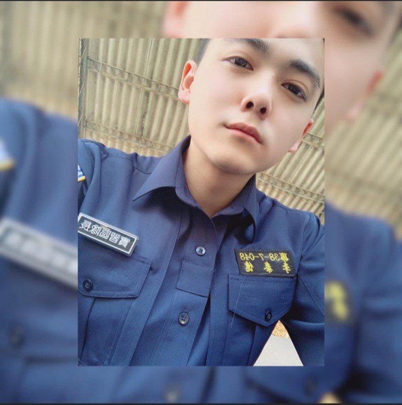 當日挺身救人的就是警專38期學生李泰億。圖/取自李泰億臉書