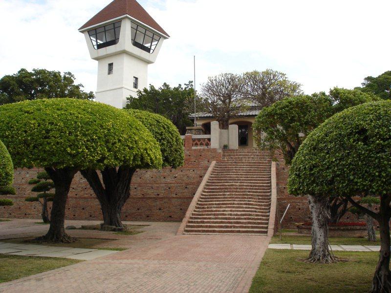 台南市安平古堡。圖/台南市政府提供