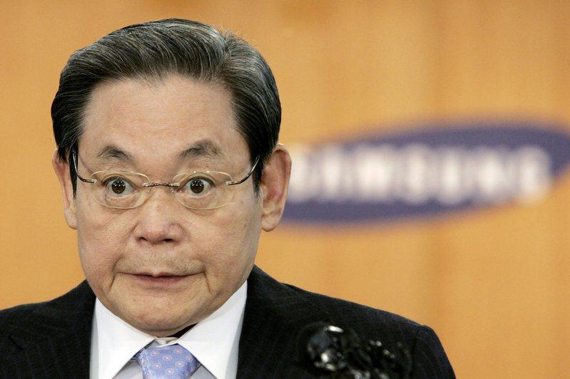 已故三星電子會長李健熙生前坐擁龐大資產,曾連續12年蟬聯韓國首富。美聯社