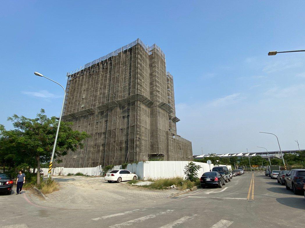 彰化高鐵特定區興建10層樓旅館,將成為指標性建築。圖/彰化縣府提供