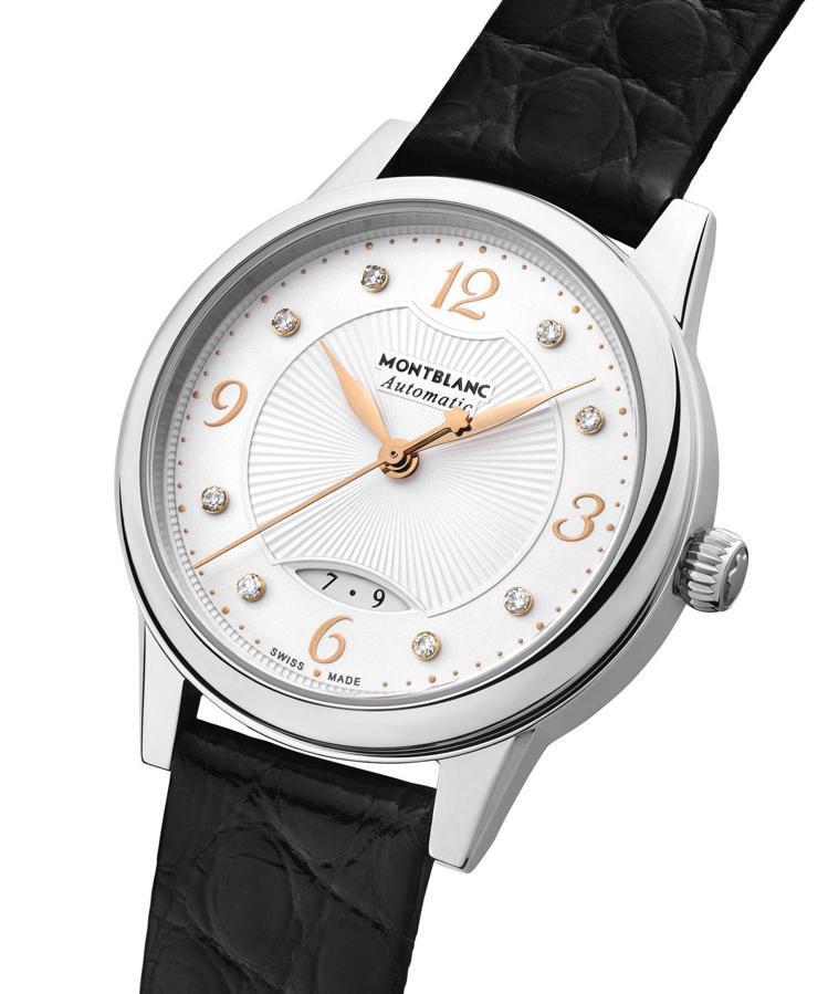 萬寶龍寶曦系列自動腕表,89,600元。圖 / 萬寶龍提供。