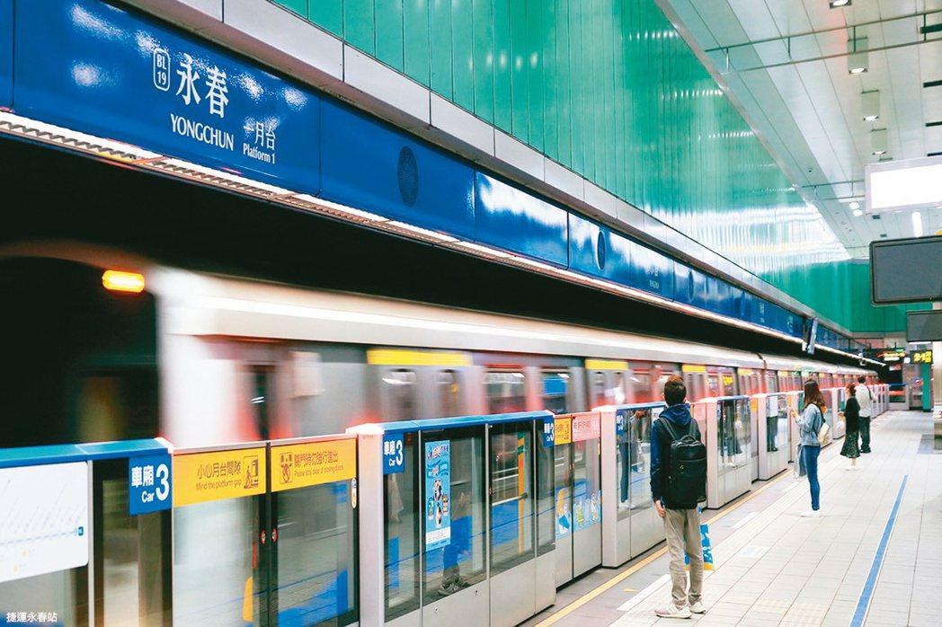「逐捷運而居」是大台北地區民眾看屋的重要考量因素。本報資料照片