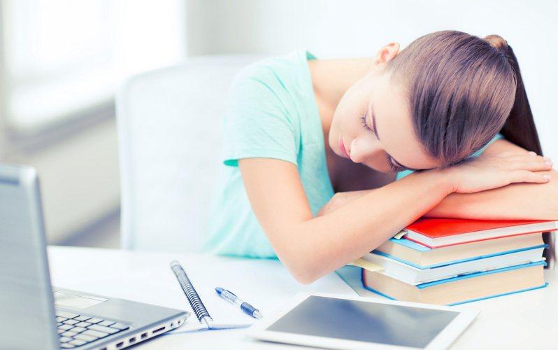 你累了嗎?透過心理測驗,就能瞭解自己的疲勞程度。圖片來源/ingimage