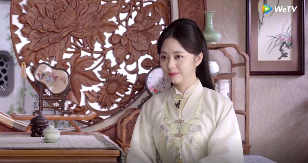 譚松韻在「錦心似玉」中第一次詮釋人妻角色。圖/WeTV海外站提供