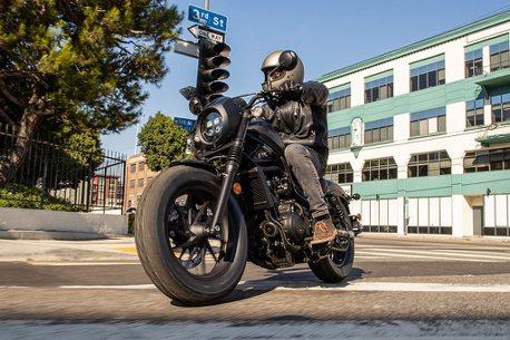 新增Rebel 500 S!新年式Honda Motorcycle Rebel 500車系28.8萬起開賣