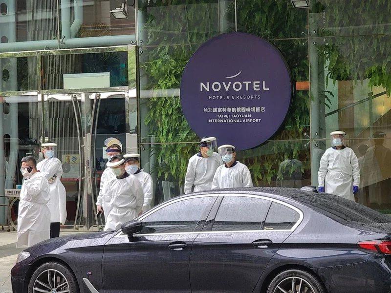 諾富特飯店爆發群聚感染。圖/報系資料照
