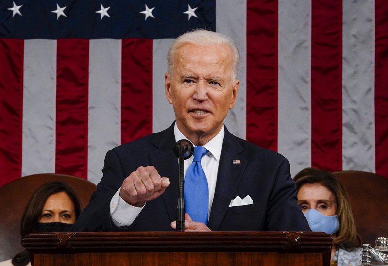 美國總統拜登強調極端的白人至上主義是最嚴重的恐怖主義挑戰。歐新社