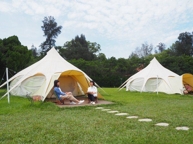 有露營業者認為,現在露營地可能已供過於求,政府若要開放設立,環境保護的規定要更明確,其他只能交給市場機制決定。圖/聯合報系資料照片