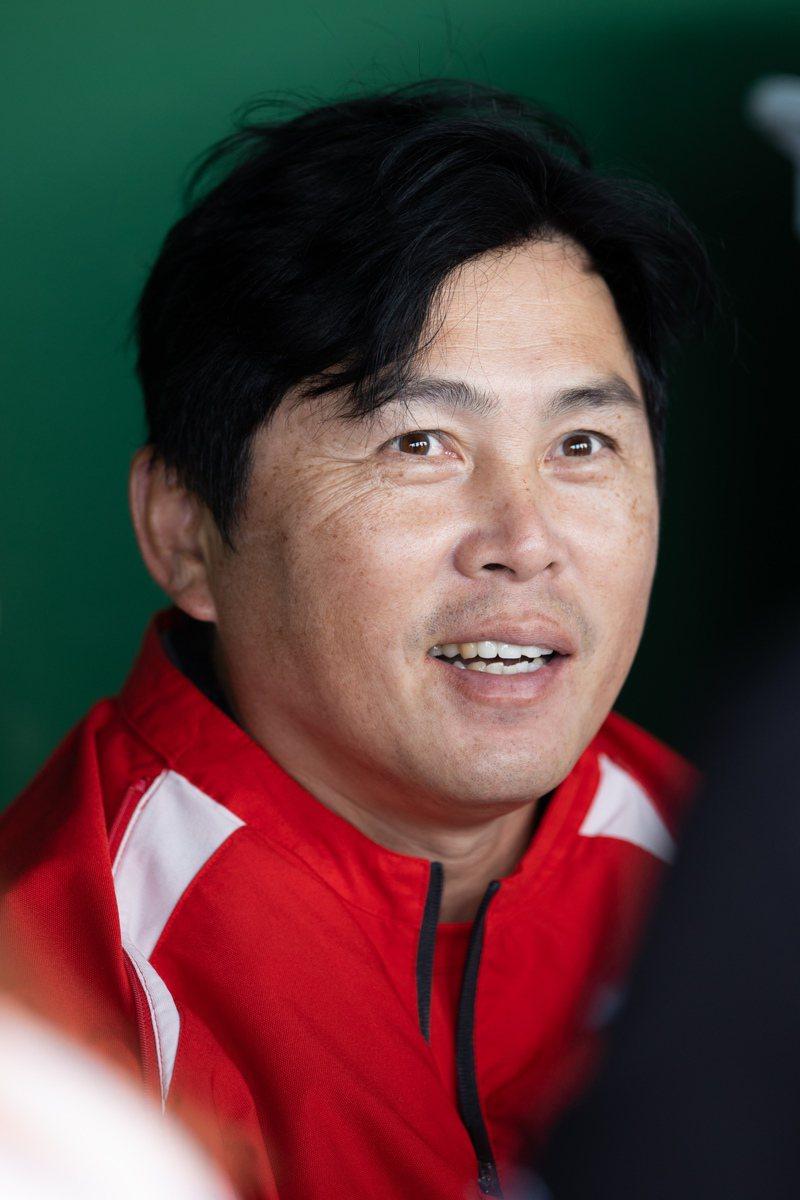 味全龍隊總教練葉君璋。記者季相儒/攝影