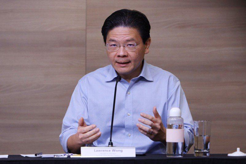 黃循財擔任新加坡跨部會抗疫工作小組聯合主席。中央社