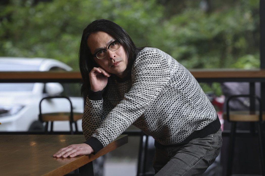 范植偉過去曾在竹東開過撞球館,但坦言當時經驗不太愉快。記者王聰賢攝