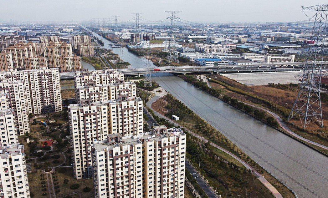 上海。中新社