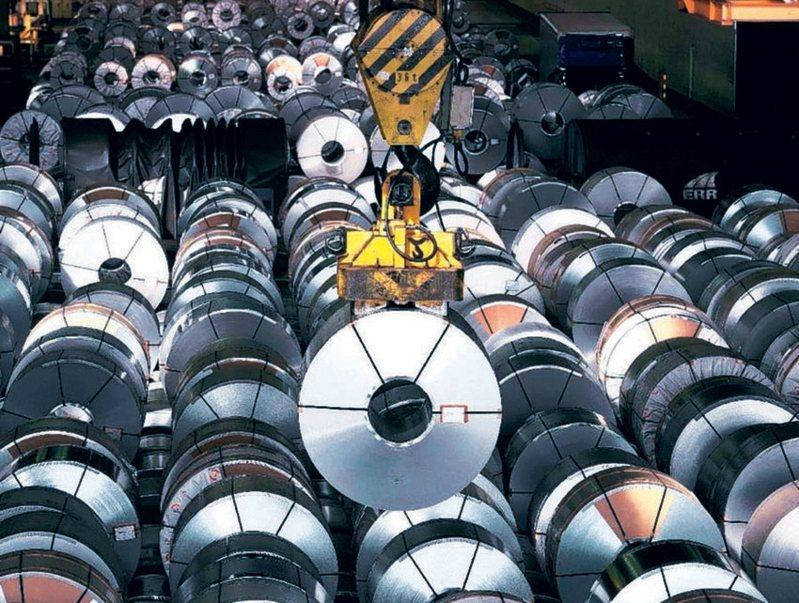 中鋼說明,受惠受惠鋼市復甦,鋼鐵事業群銷售單價持續往上攀升。 圖/聯合報系資料庫