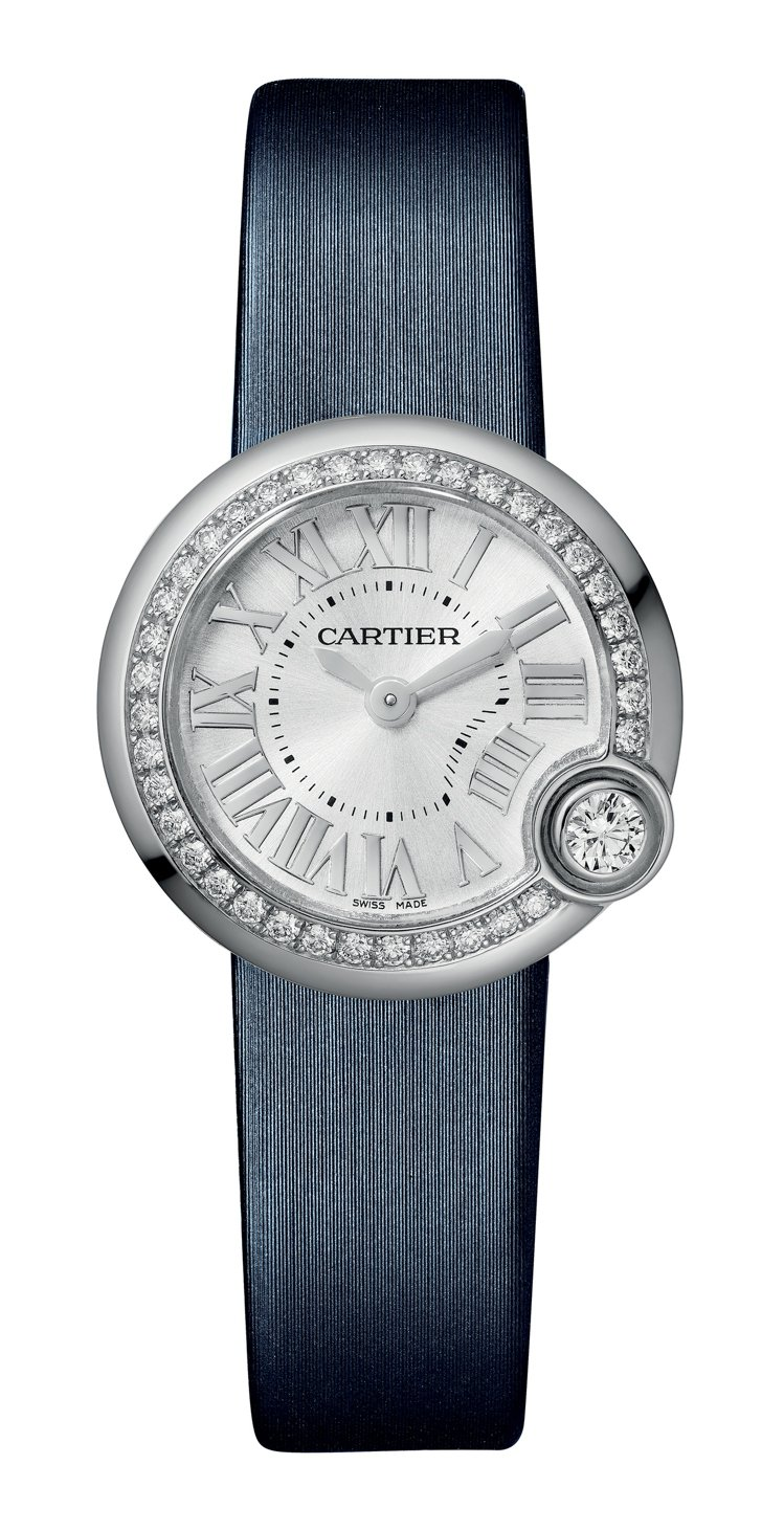 CARTIER Ballon Blanc de Cartier 26毫米精鋼鑽石...