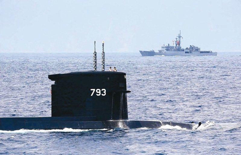 台灣的潛艦國造進度持續推進,最近台船將派專人前往歐洲考察台灣潛艦魚雷管委製情況。圖/聯合報系資料照片