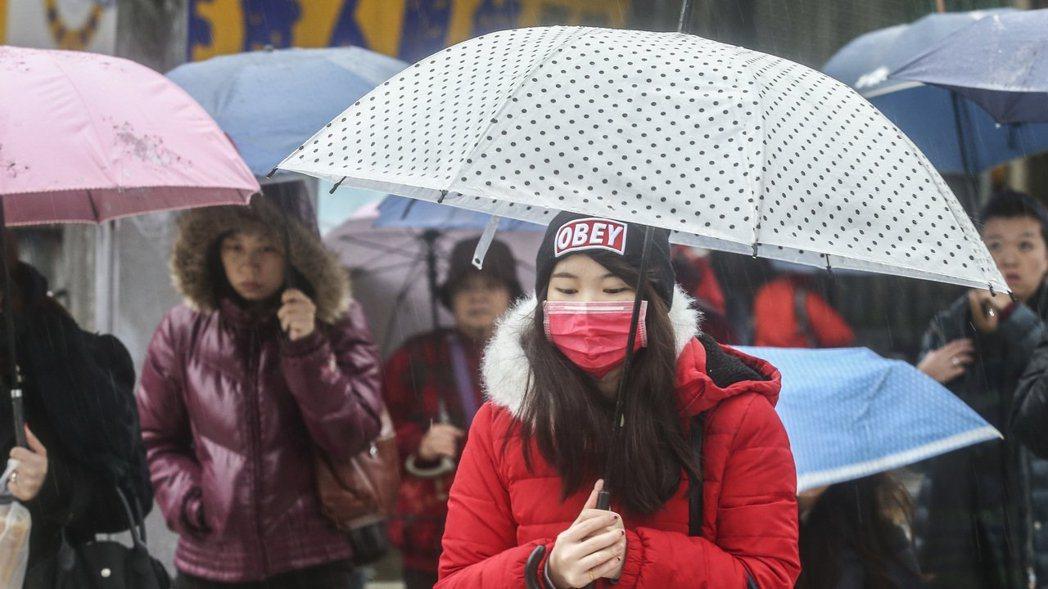 中央氣象局表示,未來一周台灣附近將有兩道鋒面。本報資料照片