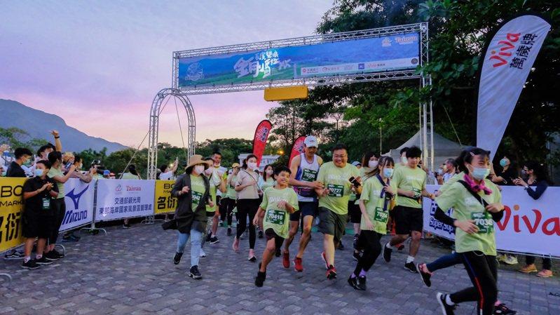 長濱雙浪金剛馬拉松今年恢復舉辦。圖/名衍行銷提供