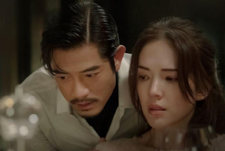 郭富城與許瑋甯在「秘密訪客」演技過招。圖/摘自微博