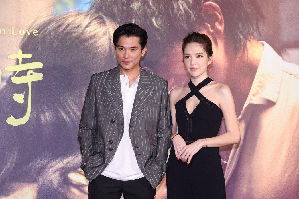 邱澤(左)與許瑋甯近來除「當男人戀愛時」大賣外,各自也有不同話題。記者王聰賢/攝