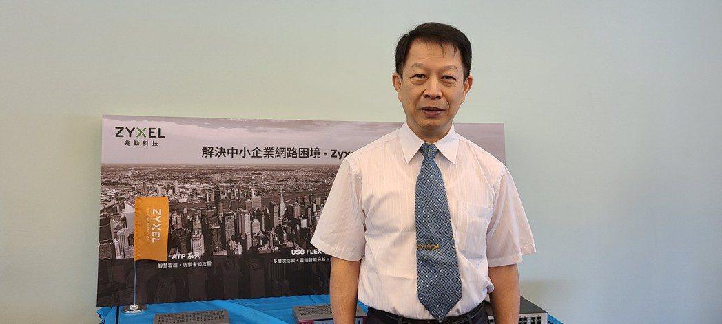 合勤控董事長朱順一(本報系資料庫)