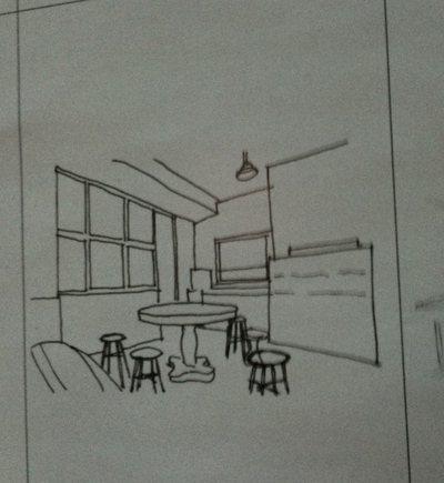 整修謝宅時,謝文侃與成大合作工作坊,讓建築系學生參與謝宅的設計。圖/謝小五