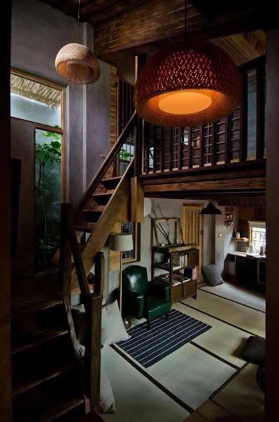 謝文侃受到日本京都的俵屋啟發,讓第四棟謝宅成為價位最高卻也具有相應價值的一間民宿...