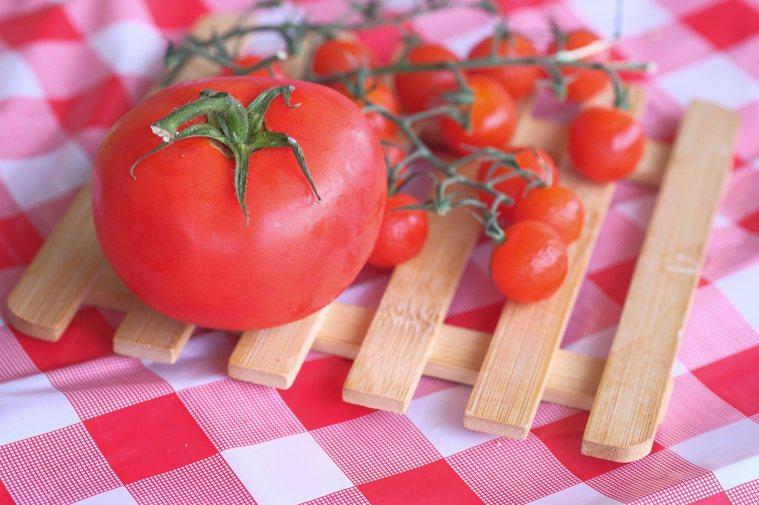 番茄有大番茄與小番茄之分。圖/123RF