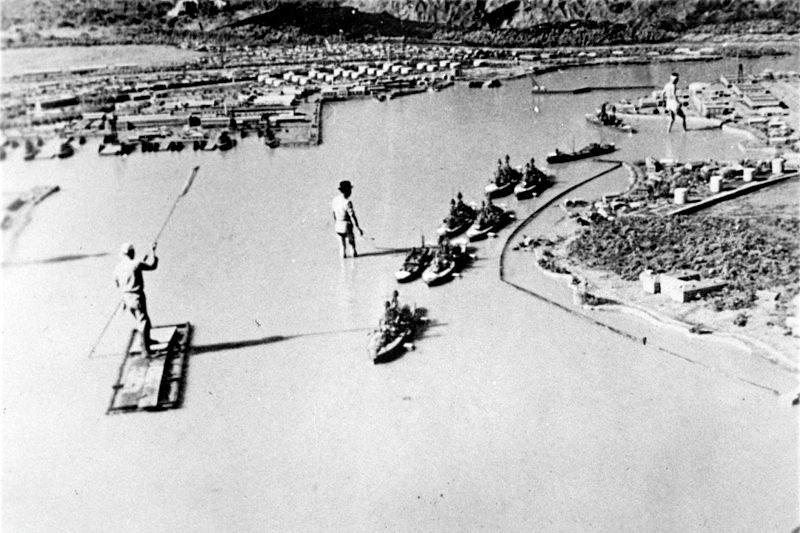 《夏威夷.馬來島海戰》拍攝現場。 圖/維基共享