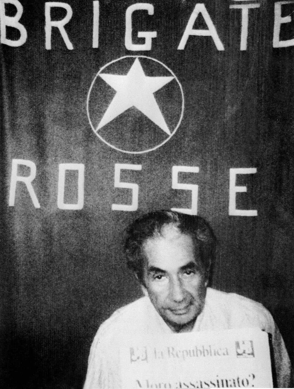 義大利總理天主教民主黨的莫羅(Aldo Moro),1978年3月16日被赤軍旅...