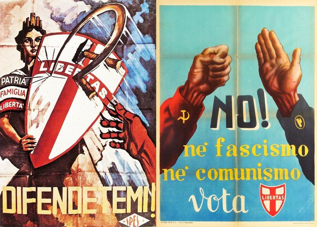 天主教民主黨在義大利獨大,原因是有梵諦岡的相挺和美國支持,不能讓義大利共黨赤化義...