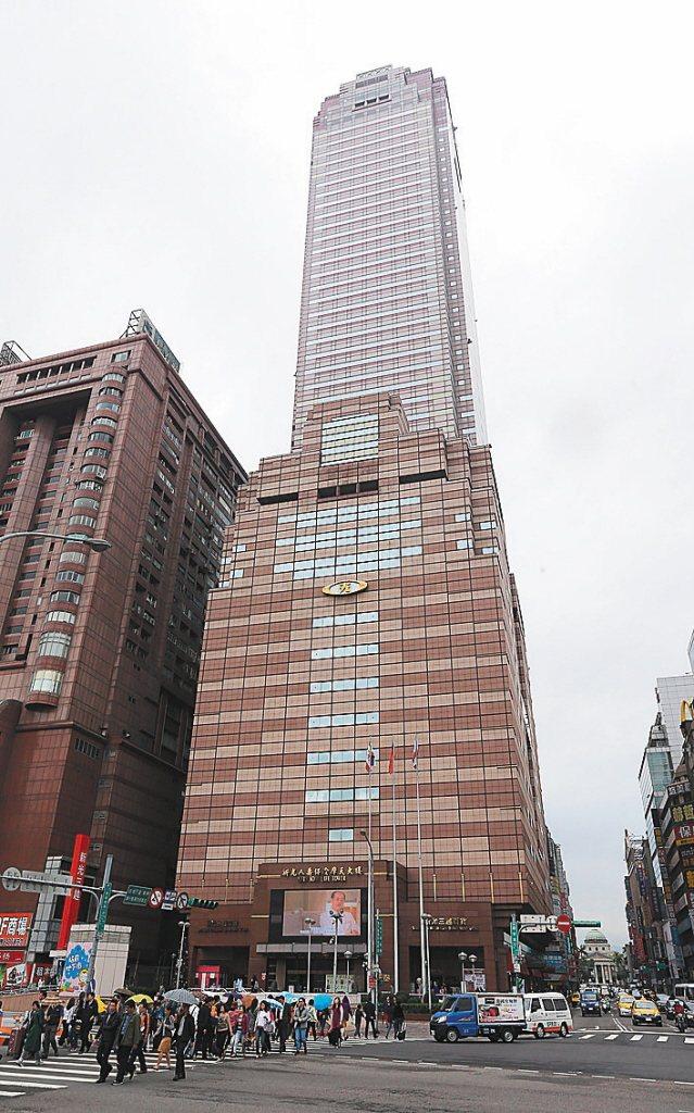 新光摩天大樓。 聯合報系資料照片/記者林澔一攝影