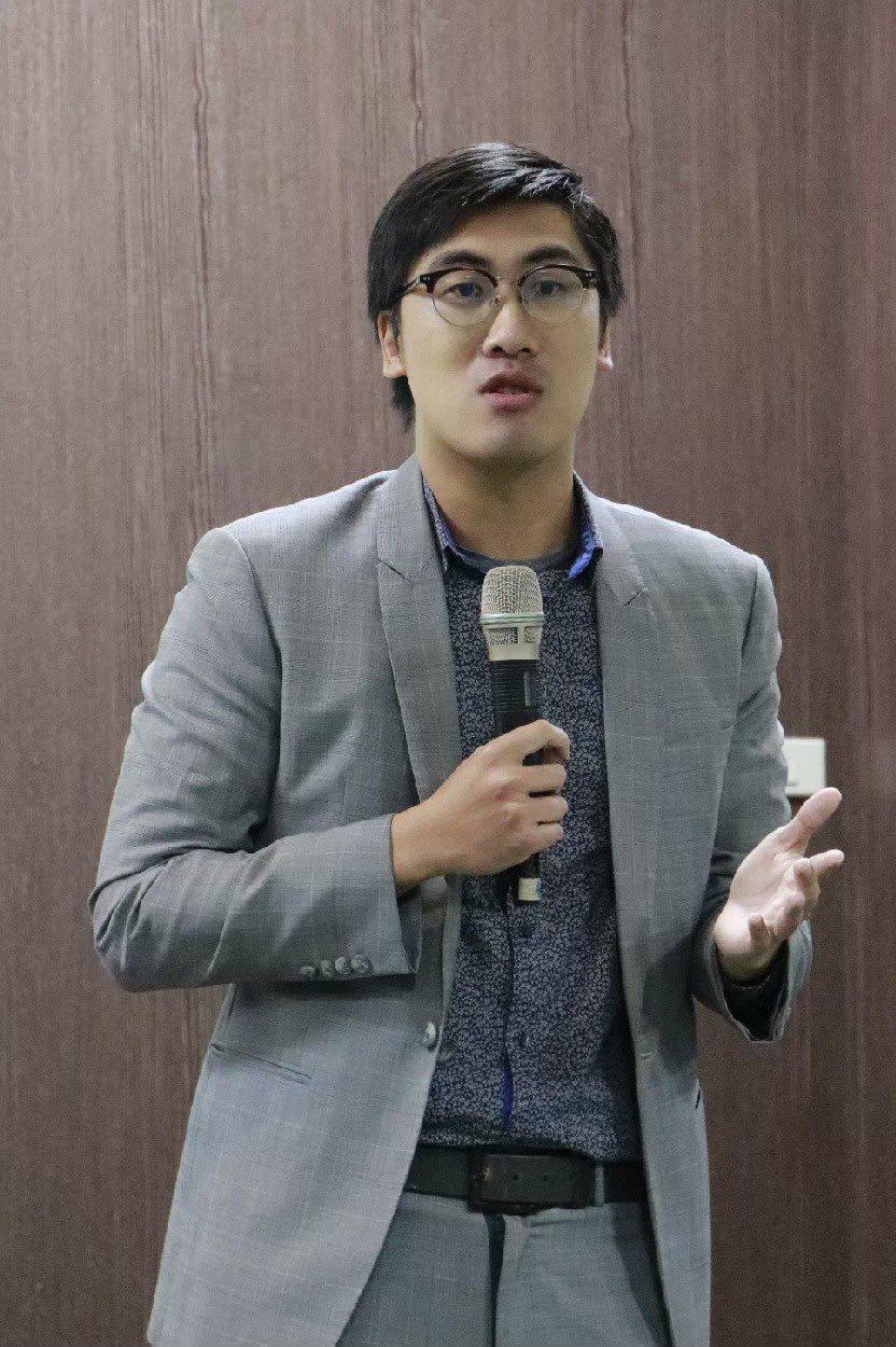 林威克國合長。 台北海大/提供。